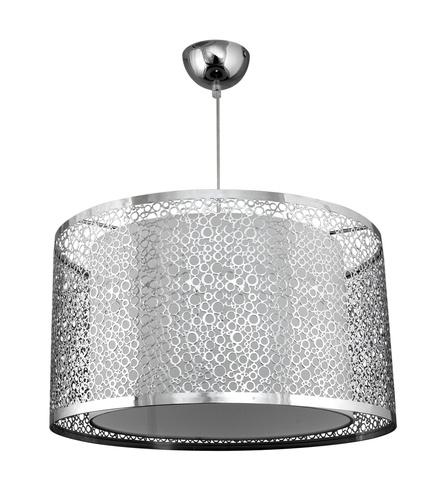 Madras Pendant Lamp 40 1x60W E27 Chrome