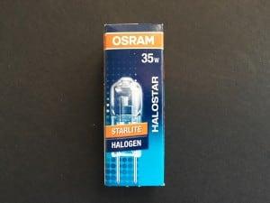 GY6.35 35W Halogen Osram Halostar Starlite 12 V small 1