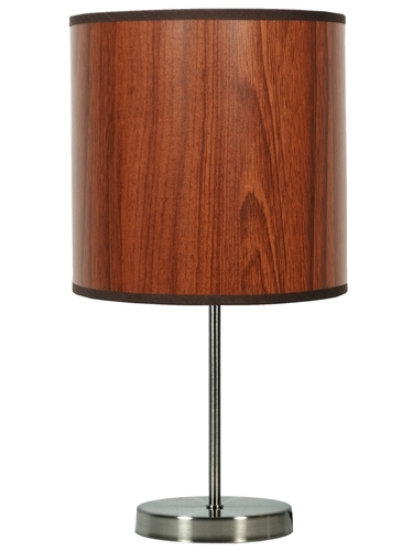 Timber Cabinet Lamp 1X60W E27 Oak
