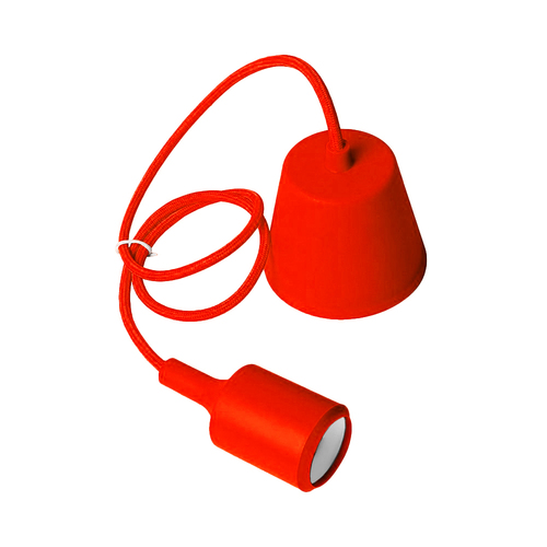 Ceiling lamp Moderna E27 60W red