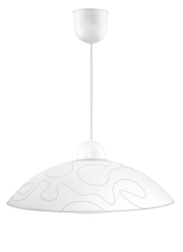Malibu 40 Hanging Lamp 1X60W E27 White