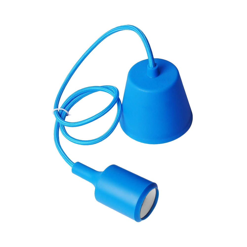 Ceiling lamp Moderna E27 60W blue
