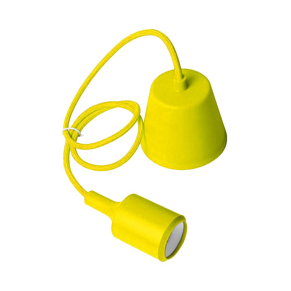 Ceiling lamp Moderna E27 60W yellow
