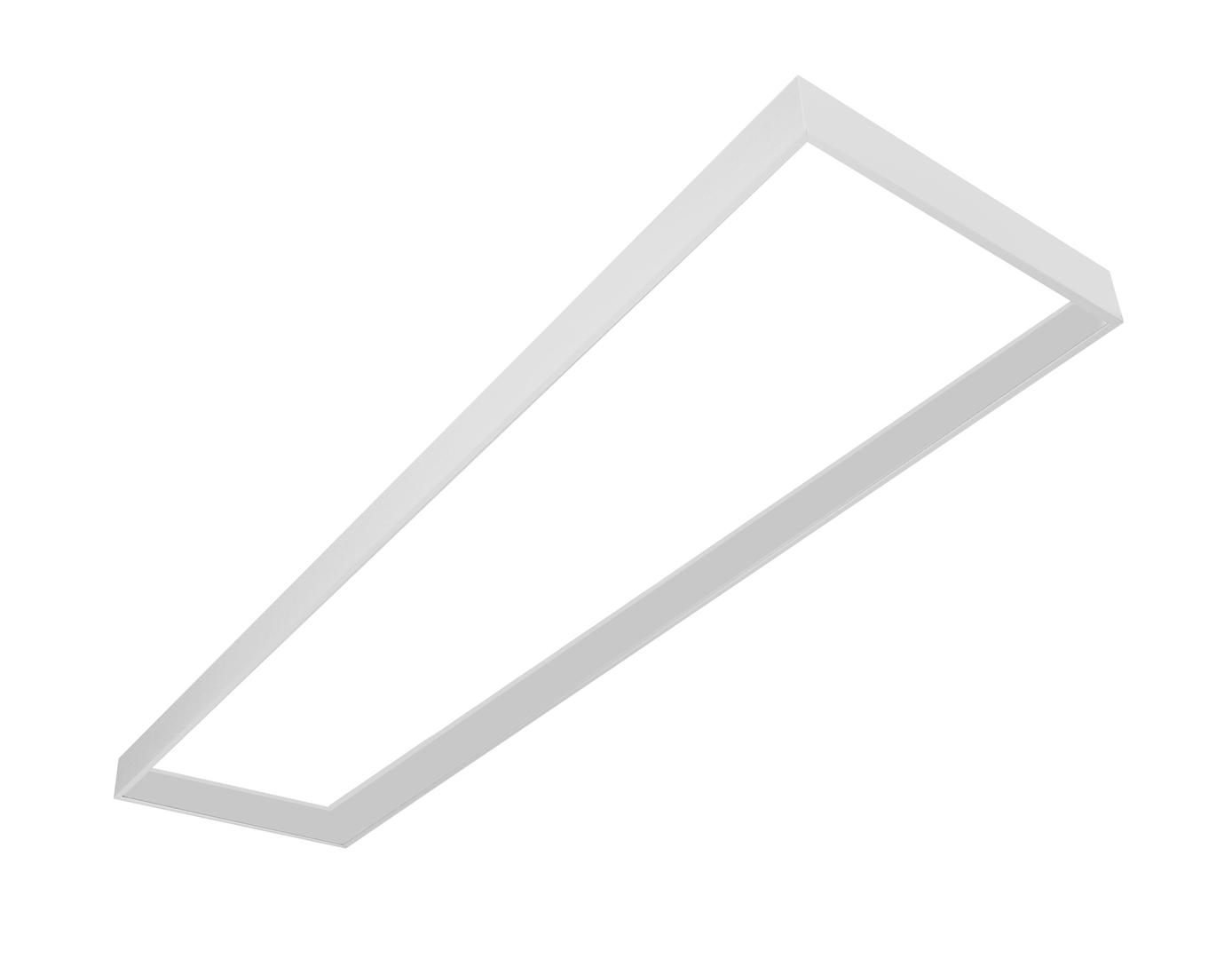 Surface mounting frame for LED panels 125/30