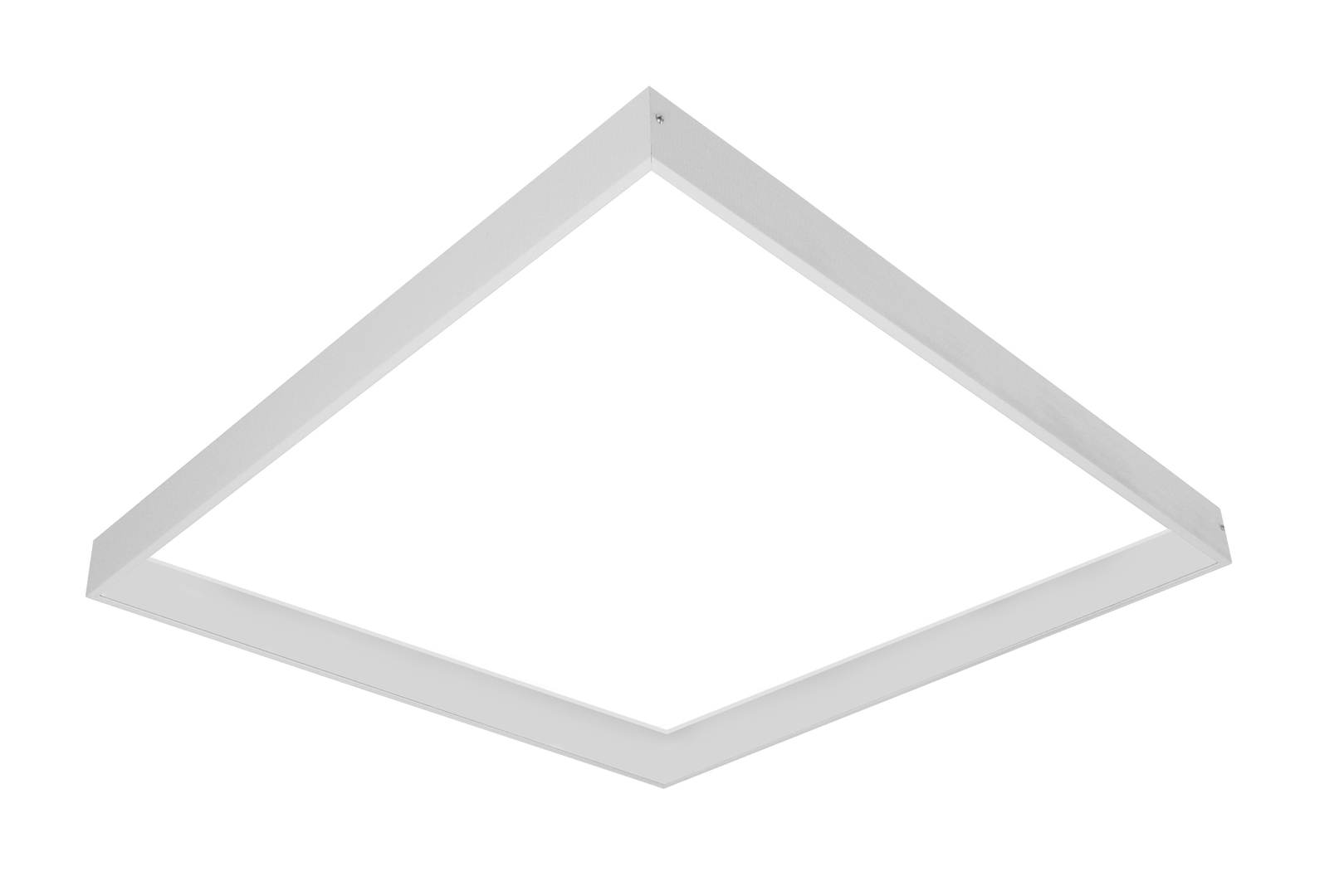 Mounting frame surface for LED 60/60 panels