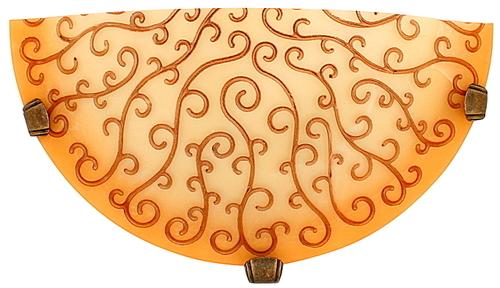 Oleander Ceiling Lamp Plafon1 / 2 Yellow 1X60W E27 Promotion