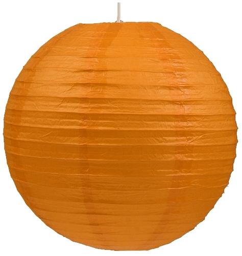 Paper Lampshade - Cocoon Paper Ball 50 Orange