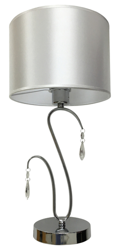 Carmen Cabinet Lamp 1X60W E27 Chrome