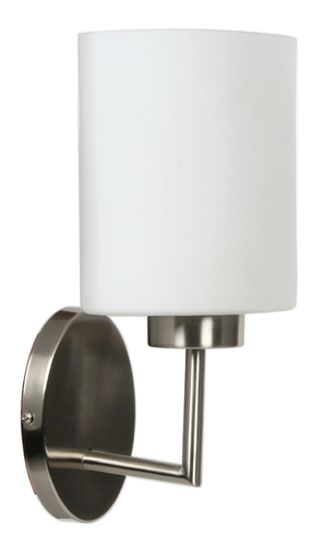 Visola lamp Wall lamp 1X60W E27 Nickel Matt