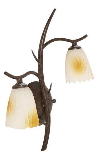 Lamp L&H Mikado Wall 2X40W G9 Patina