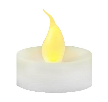 Decorative candle LED flame set 4 pcs