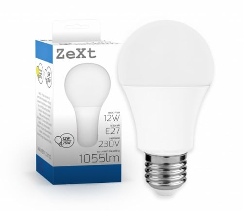 LED A60 E27 12W 3000K light bulb