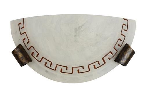 Lamp Plafond 130 Sv. Antik 1/2 4875-3826 1X60W E27