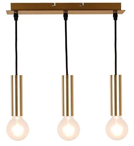 Hanging Lamp Dallas 142 Mm 3 Gold