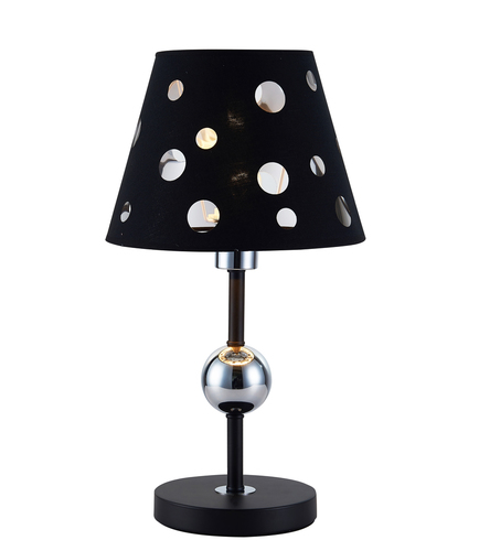 Table Lamp Batley 1 Black