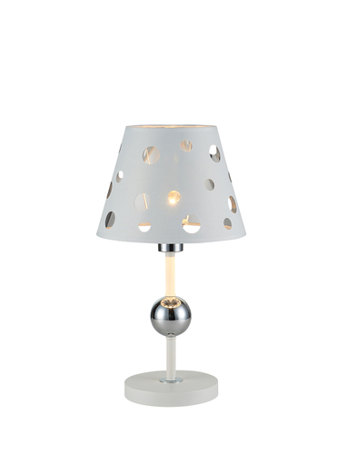 Table Lamp Batley 1 White