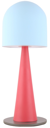 Visby 1 Table Lamp Blue Red