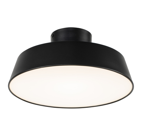 Ceiling Lamp Orlando 1 Satin Black 40