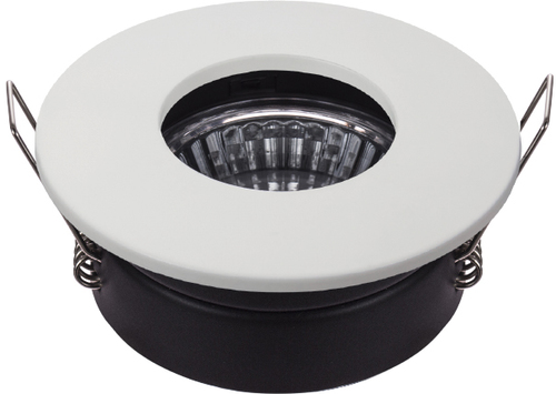 Sh-12 Wh Mr16 White Eyelet Ceiling Lamp Hermetic Ceiling Lamp Ip65 Moisture Proof