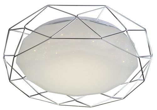 Lamp Plafond Sven 43 24W Led 4000K Chrome