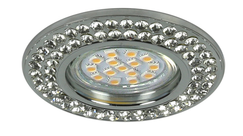 Soc-02 Ch Gu10 50W 230V Ceiling Fixed Round Cast
