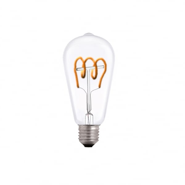 Exclusive Decorative LED spiral bulb E27 3.5W 2000k 230V