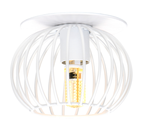 Sk-93 Wh G9 40W 230V White Eyelet Ceiling Ceiling Lamp