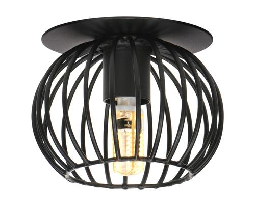 Sk-93 Bk G9 40W 230V Black Eyelet Ceiling Lamp