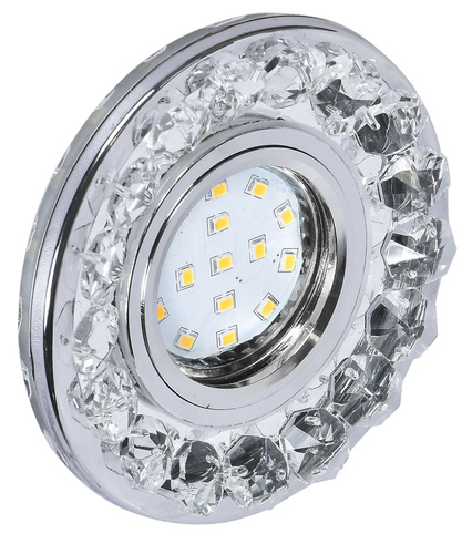 Ceiling fitting Sk-94 Gu-10 35W Chrome Colorless