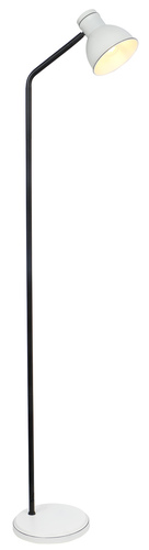 Zumba Floor Lamp Seatpost Simple 1X40W E27 White + Black