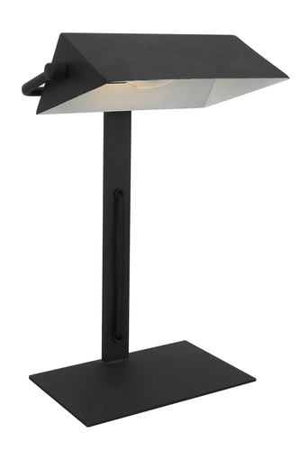Bankier Cabinet Lamp 1X40W E14 Black