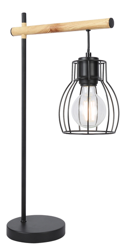 Bernita Cabinet Lamp 1X60W E27 Black