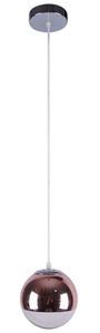 Gaze Pendant Lamp 20 1X60W E27 Pink Gold small 0