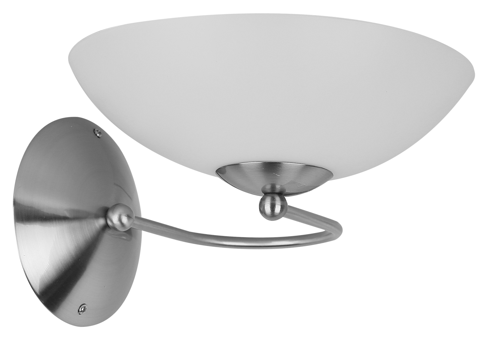 Lido Wall Lamp 1X60W E27 Satin