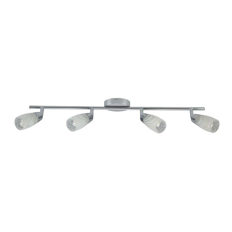 Laufer Lamp Strip 4X40W G9 Chrome