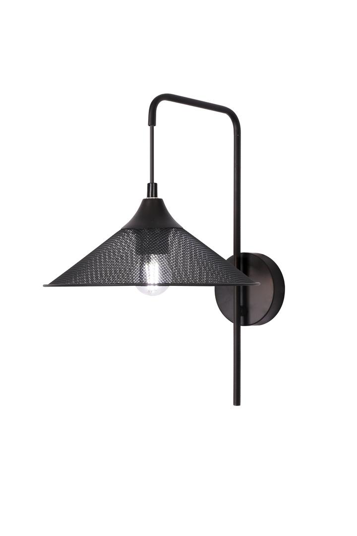 Wall lamp Kiruna 1 Black