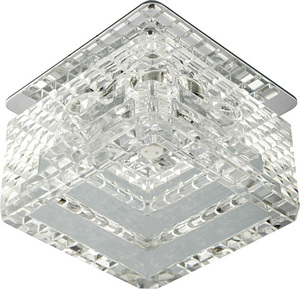 Sk-50 Ch / Wh G4 Ceiling Solid 20W Crystal G4 Cut Cube small 0