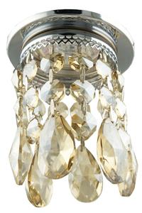Sk-64 Ch / G Mr16 Chrome Flush Ceiling Decorative Transparent Gold Mr16 50W small 0