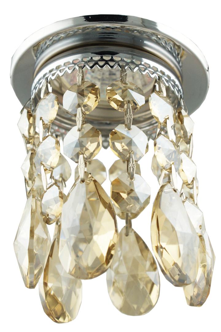 Sk-64 Ch / G Mr16 Chrome Flush Ceiling Decorative Transparent Gold Mr16 50W