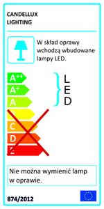 Giaros Pendant Lamp 65 36W Led Black 4000K Apeti small 1