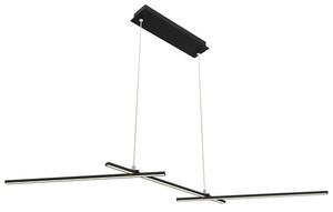 Thasos Pendant Lamp 103X23 23W Led Black 4000K Apeti small 0