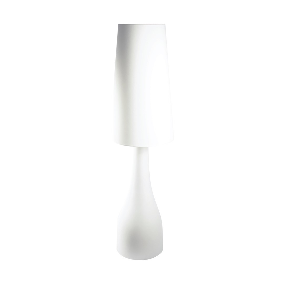 Large White Bella Ceramic Lamp