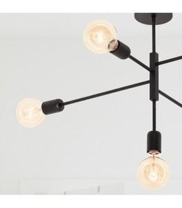 ALTA Black ceiling lamp small 1