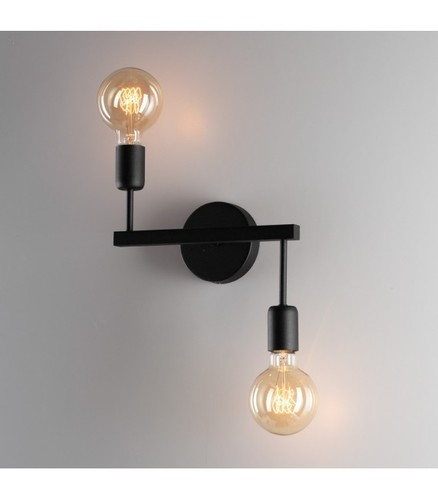 ALTA Wall lamp k-2 black