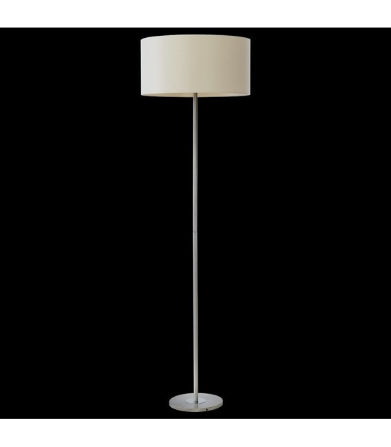 BACH Floor lamp nickel / ecru