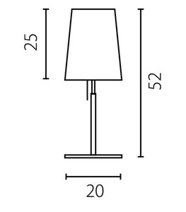 BELL Bedside lamp small 2