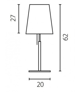 BELL Office lamp small 2