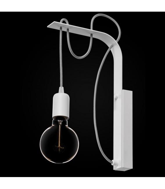 BORNHOLM Wall lamp white
