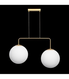 Hanging lamp RETRO gold W-2 small 1