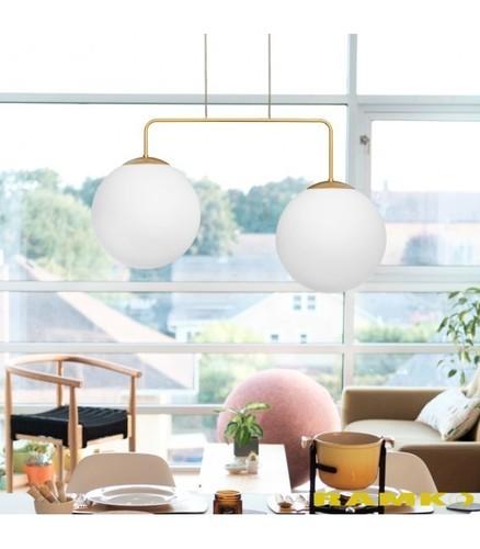 Hanging lamp RETRO gold W-2